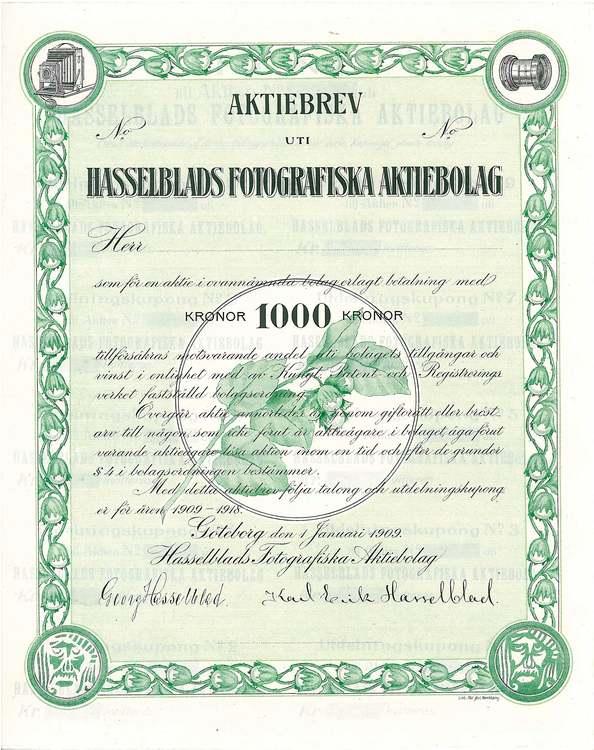 Hasselblads Fotografiska AB