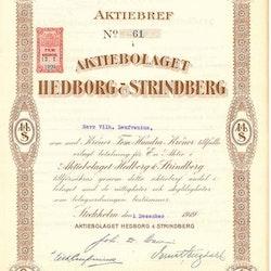Hedborg & Strindberg, AB