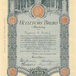 Hellefors Bruks AB, 500 kr