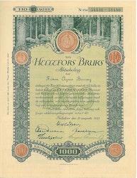 Hellefors Bruks AB, 1000 kr