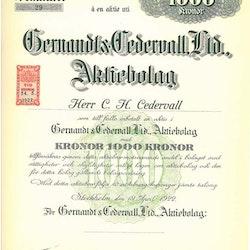 Gernandt & Cedervall, Ldt.  AB