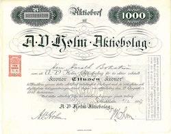 Holm AB, A. V.