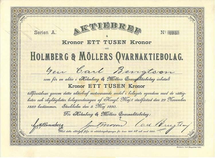 Holmberg & Möllers Qvarn AB