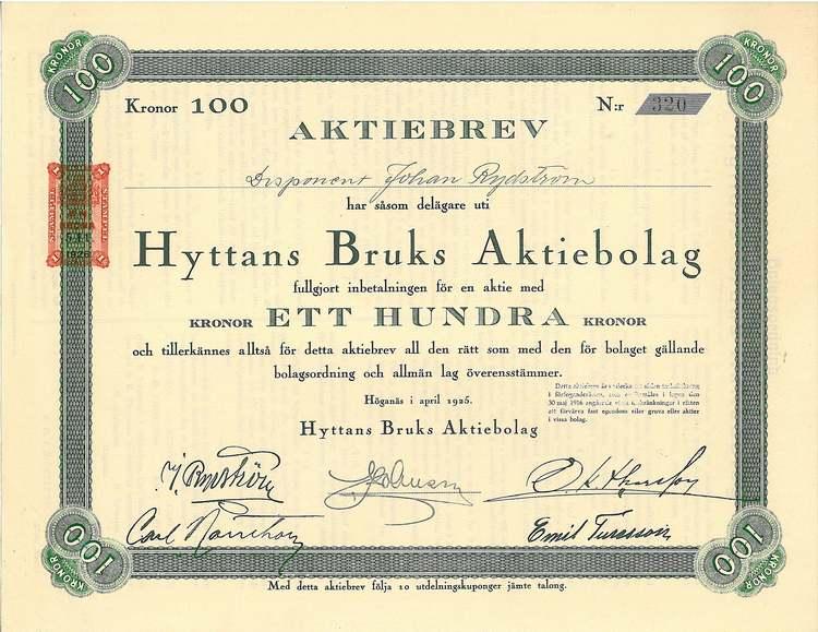 Hyttans Bruks AB