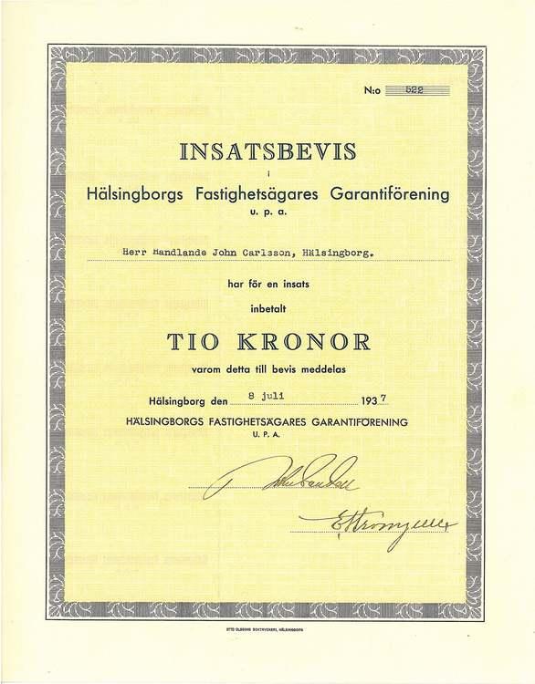 Hälsingborgs Fastighetsägares Garantiförening
