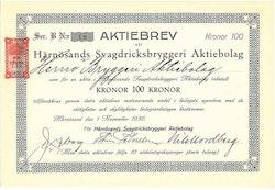 Härnösands Svagdricksbryggeri AB