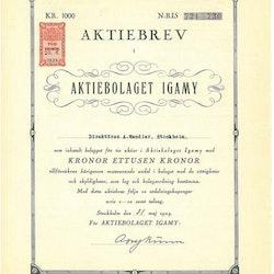 Igamy, AB
