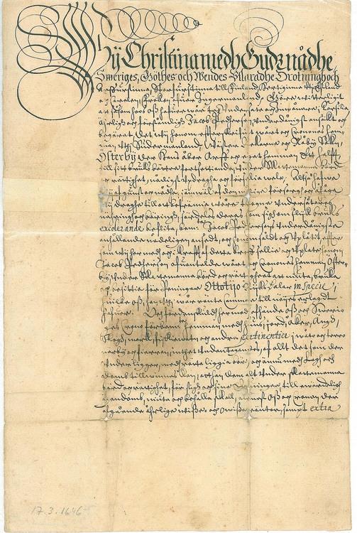 Kristina 1646