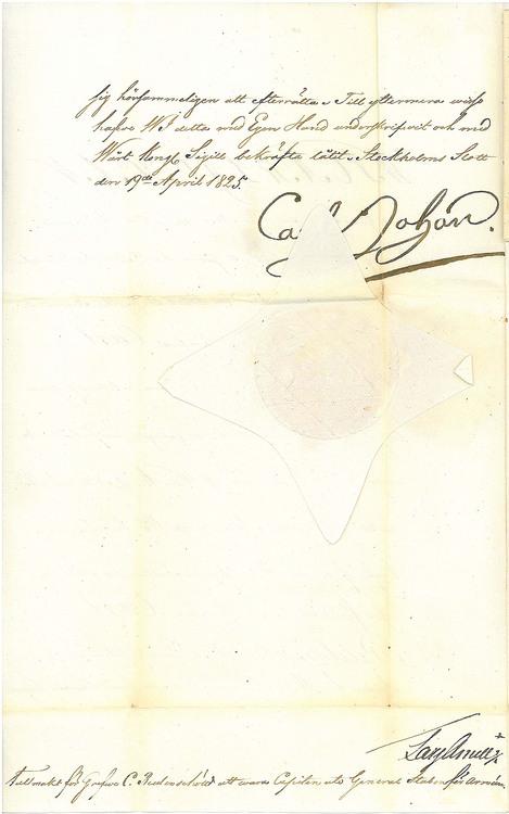 Karl XIV Johan 1825