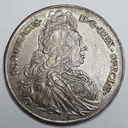 *Fredrik I, 1 Riksdaler, 1728