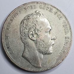 *Karl XV 4 Rdr Rmt 1862 utan L.A.