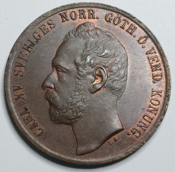 *Karl XV 5 öre 1867