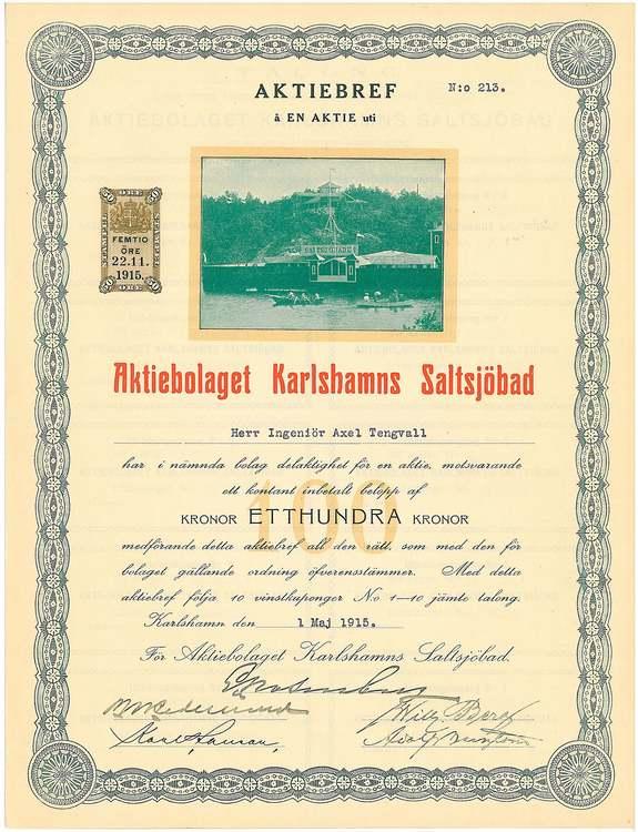 Karlshamns Saltsjöbad AB