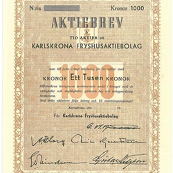 Karlskrona Frysprodukter AB
