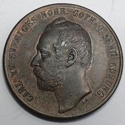 *Karl XV 5 Öre 1863/62