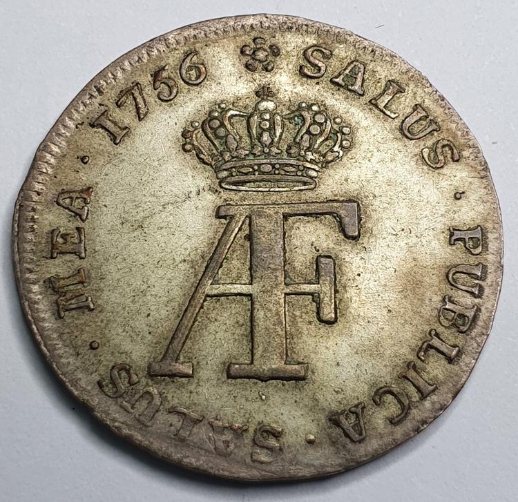 Adolf Fredrik 5 Öre 1756