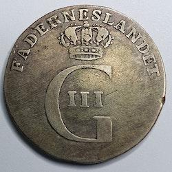 Gustav III 16 Öre 1774/73