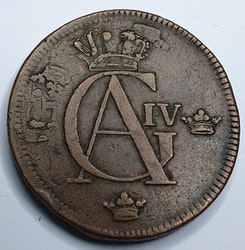 Gustav IV Adolf, 1 Skilling 1802 på 1761