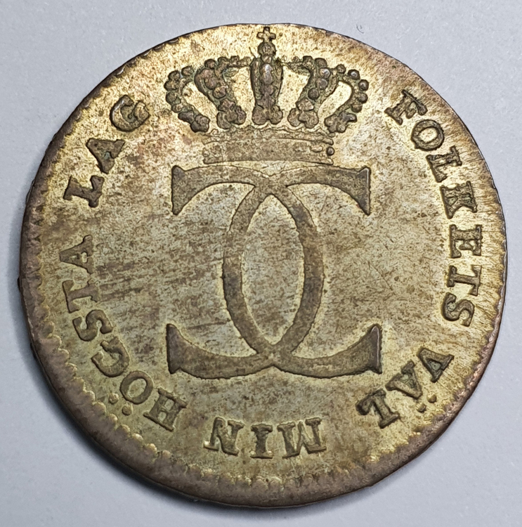 Karl XIII, 1/24 Riksdaler 1810