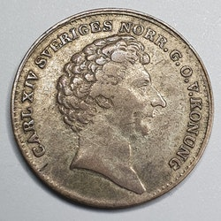 Karl XIV Johan 1/16 Rdr Specie 1836/5