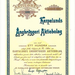 Karpalunds Ångbryggeri