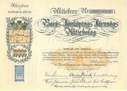 Borås-Ulricehamns Järnvägs AB, 10 000 kr, 1929