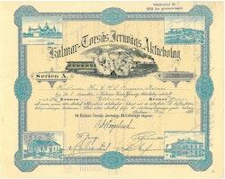 Kalmar-Torsås Jernvägs AB, 100 kr, 1898