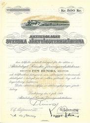 Svenska Järnvägsverkstäderna, AB, 500 kr, 1949