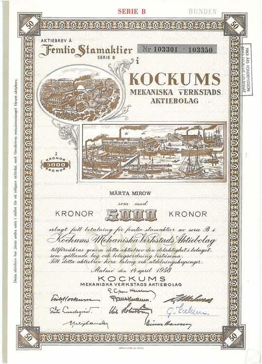 Kockums Mekaniska Werkstads AB