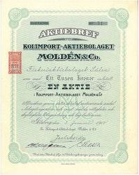 Kolimport- AB Moldén & Co.