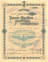 Ystad-Eslös Jernvägs AB, 100 kr, 1901, Ystad