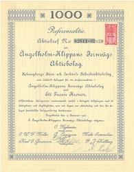 Ängelholm-Klippans Jernvägs AB, 1 000 kr, 1097