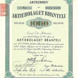 Branteli, AB, 1 000 kr