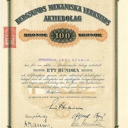 Bergsunds Mekaniska Verkstads AB, 100 kr