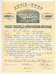 Bräcke-Sundsvalls Kommunikations AB