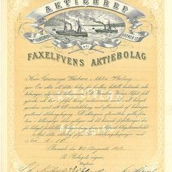 Faxelvens AB, 1878