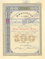 Helsingborgs Varfs AB, 500 kr, 1899