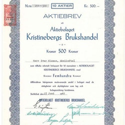 Kristinebergs Brukshandel, AB