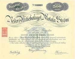 Rederi AB Motala Ström, 500 kr, 1920