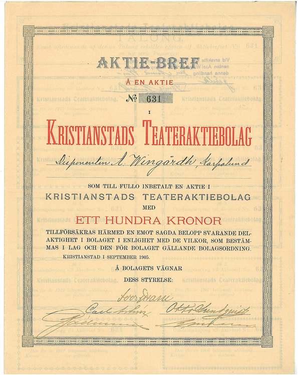 Kristianstad Teater AB