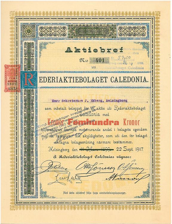 Rederi AB Caledonia