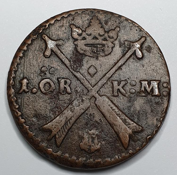 Karl XI 1 Öre KM 1663