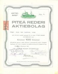 Piteå Rederi AB