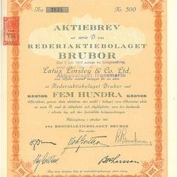 Rederi AB Brubor
