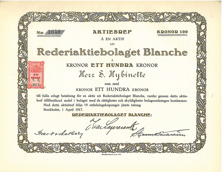 Rederi AB Branche,