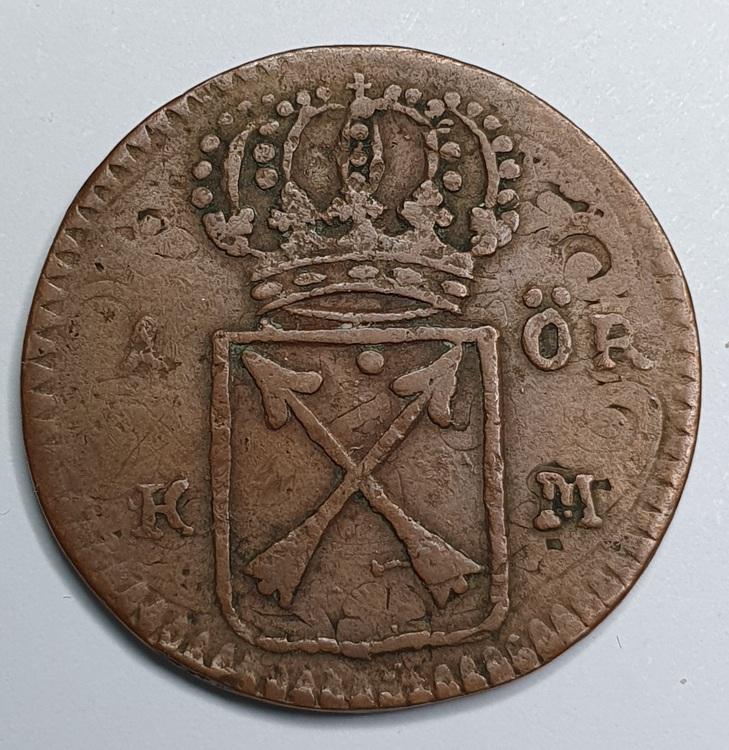 Ulrika Eleonora 1 Öre KM 1719