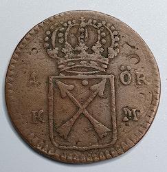 Ulrika Eleonora 1 Öre 1719