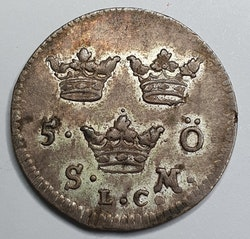 Fredrik I 5 Öre 1722