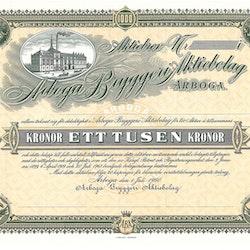 Arboga Bryggeri AB, 1000 kr