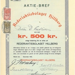Rederi AB Hillberg